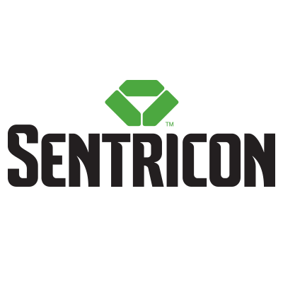Sentricon icon on white background