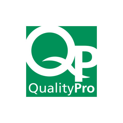 Quality Pro QP Green Logo